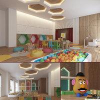 Kindergarten Nursery Interior