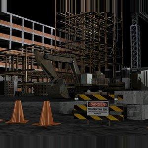 environment construction model
