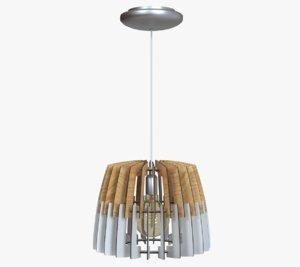 3D chandelier light artana