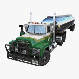 fuel trailer pbr 3D