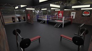 3D boxing studio - training
