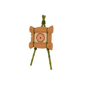 archery sport 3D model