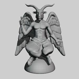 baphomet 3D model