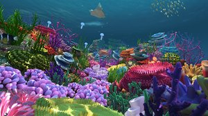underwater world life 3D