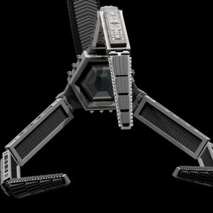 rig claw 3D model