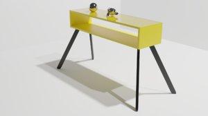 3D model rack aparador
