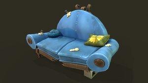 stylized sofa model