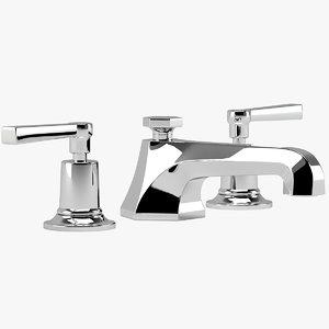 3D lavatory faucet