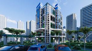 3D hotel type