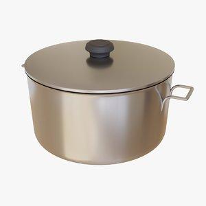 3D model pot kitchen