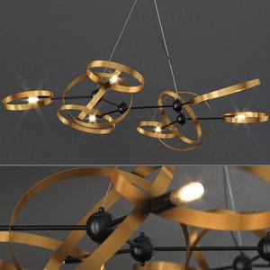 chandelier sata lampatron 3D model