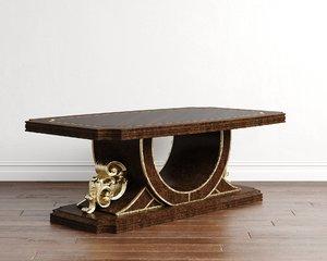 3D coffee table calenas art deco