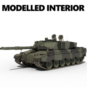 british army challenger 2 model