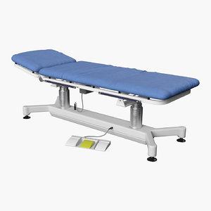 3D medical examination table