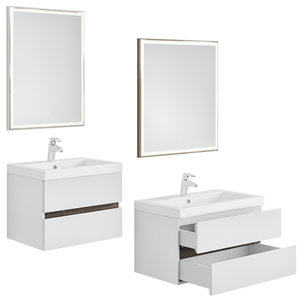 berkeley furniture set white 3D