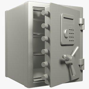 safe opening door 3D