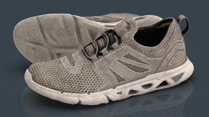 tactical shoe 3D model
