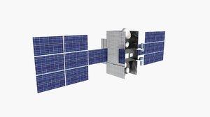 wideband global satcom 3D model