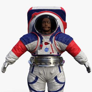 spacesuit nasa astronaut artemis 3D