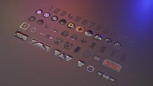 details lifetime decal pack model