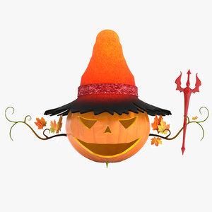 halloween phantasy character model
