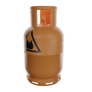 3D model bottle gas