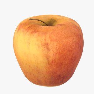 3D gala apple model