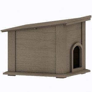 3D doghouse
