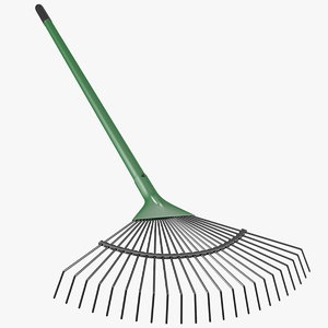 3D leaf rake