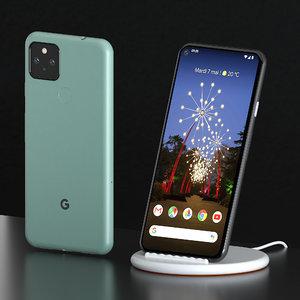 3D smartphone google pixel 5