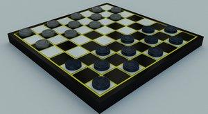 checkers model