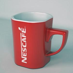 3D nescaf coffee