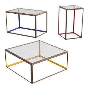 3D tavolino tables model
