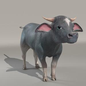 buffalokid buffalo 3D