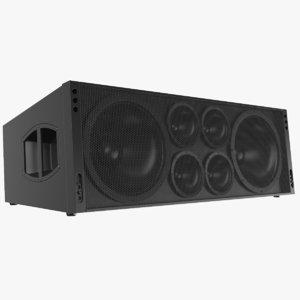 3D real speaker