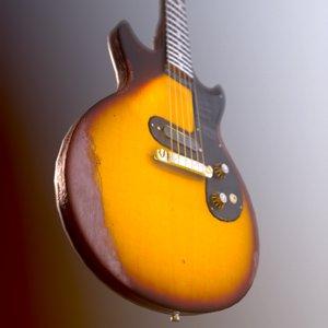 guitars punk rock 3D model