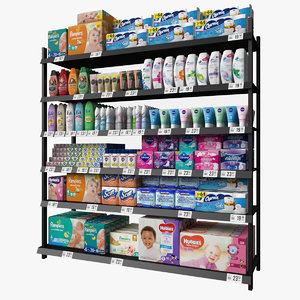 shelf hygiene 3D