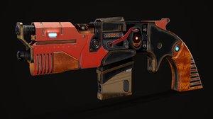 gun pbr 3D model