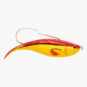 3D fish lure model