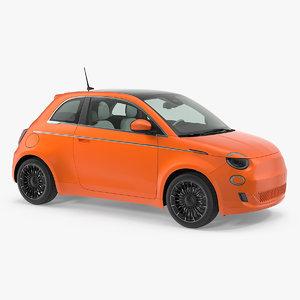 3D ev compact car
