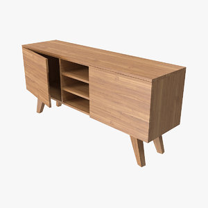 3D model furniture sideboard