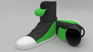 shoes keychain printer model