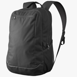 realistic backpack 3D