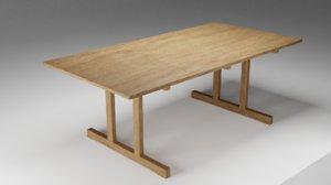 fredericia mogensen table model