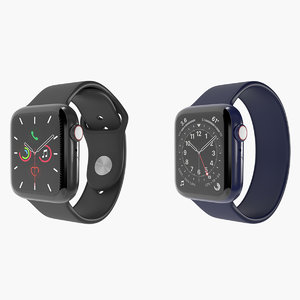 3D apple watch series 5