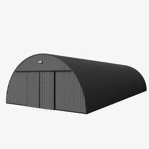 shelter tent 3D model
