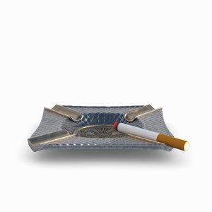 3D model redshift ashtray