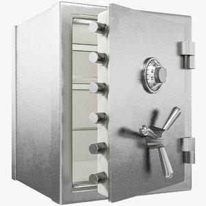 safe opening door 3D model