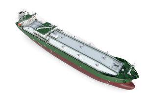 3D model vessel tanker