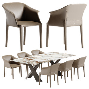 3D cattelan italia zuleika chair
